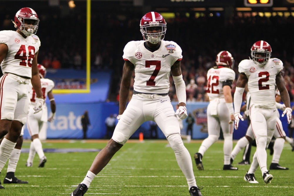 Opening kickoff sets the tone for Alabama's defensive showcase