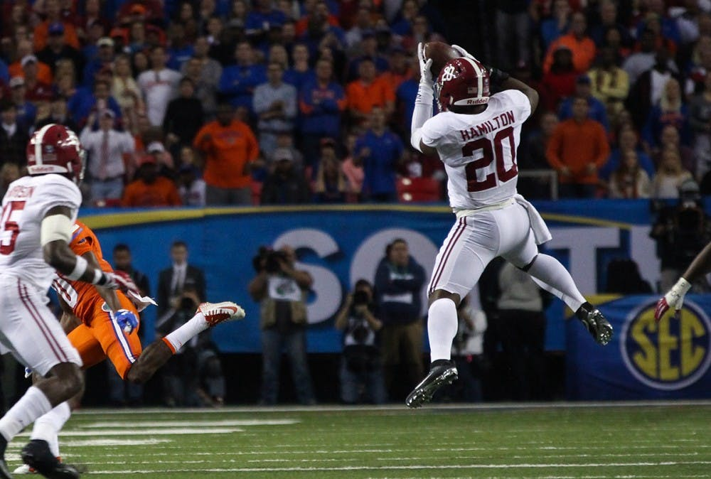 Shaun Dion Hamilton named SEC Defensive Player of the Week