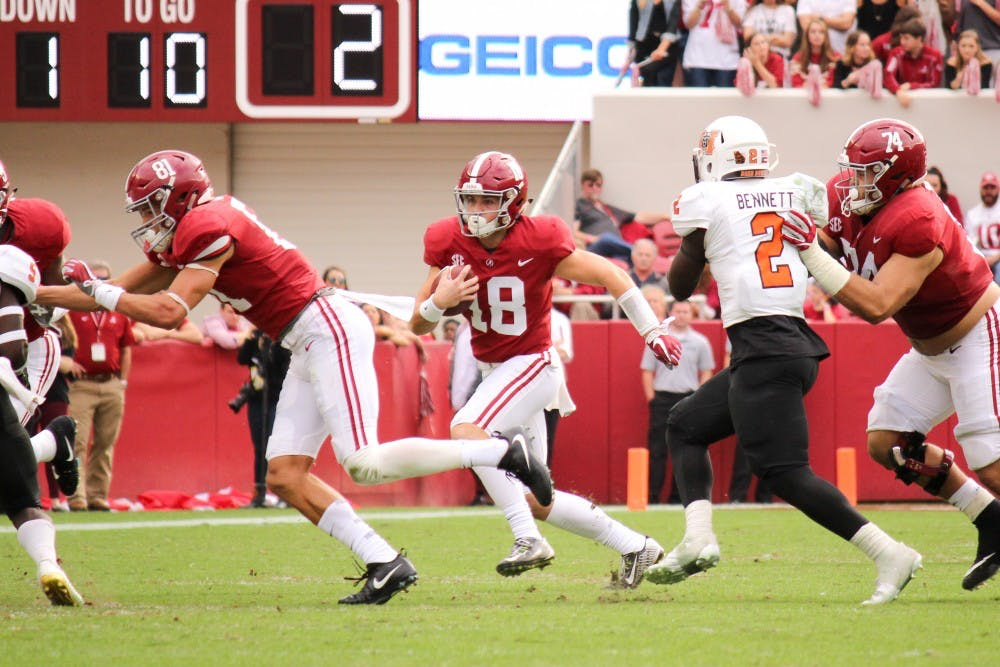 Rolling with the Tide: Alabama versus Mercer