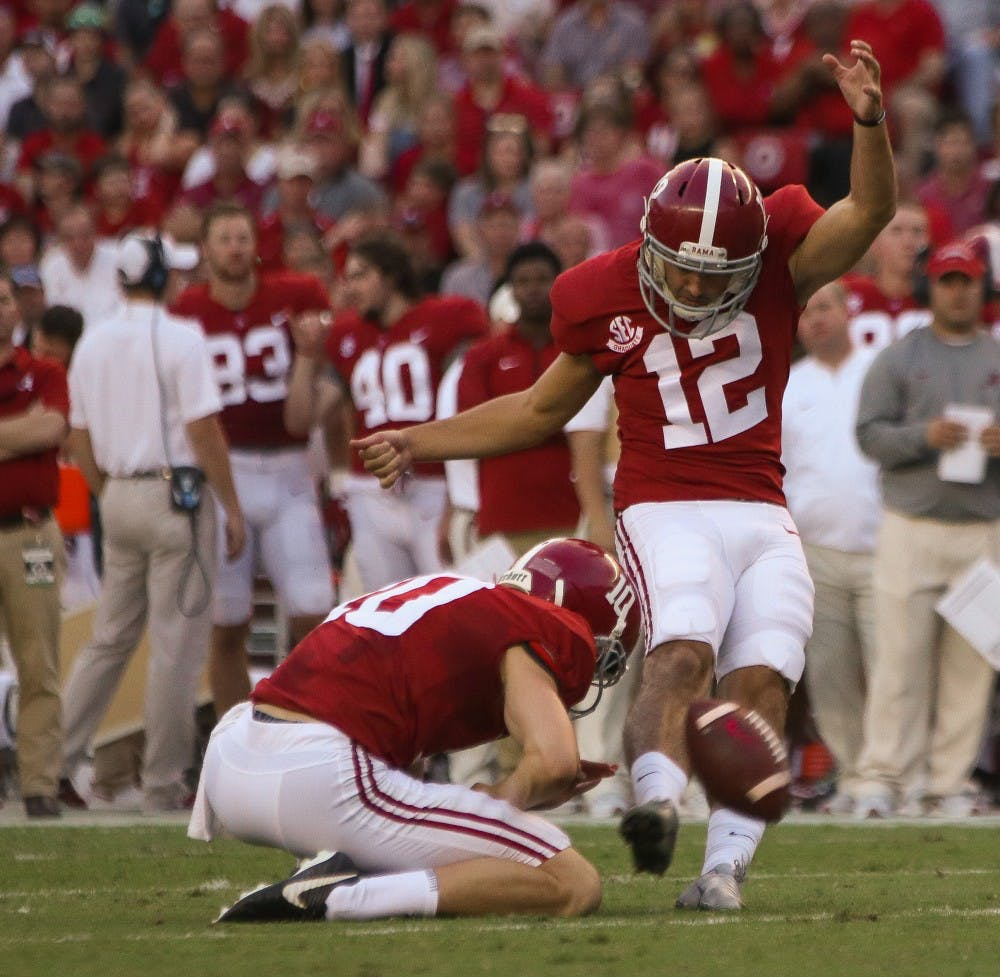 Andy Pappanastos settling in as Alabama's kicker