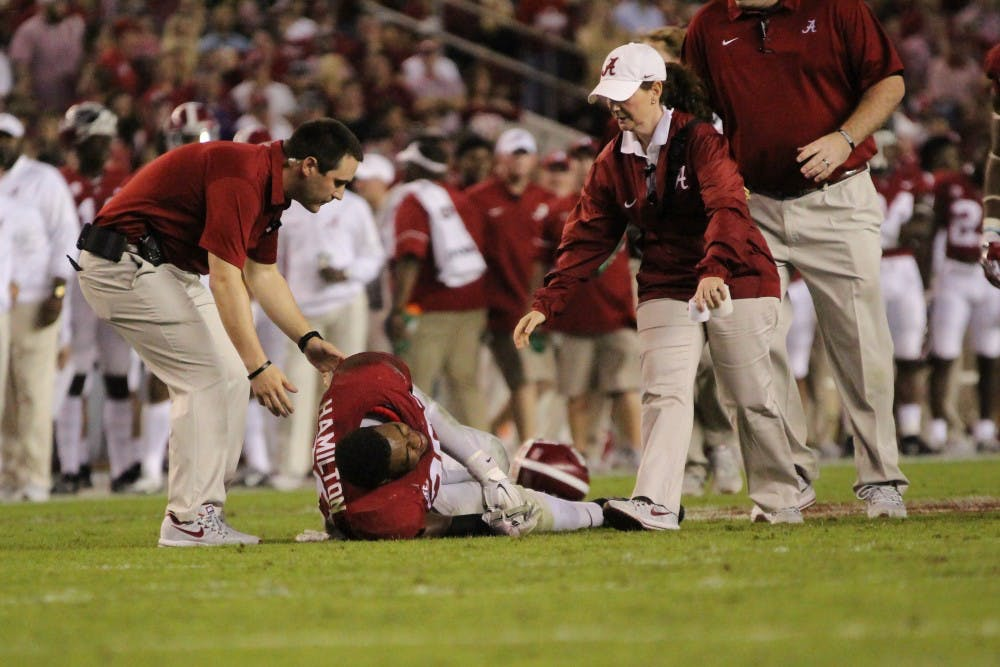 Alabama looks for leadership on defense after Shaun Dion Hamilton injury