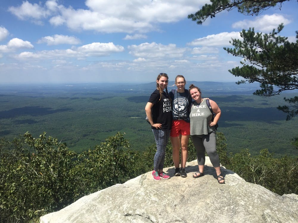 Student hikes her way through Alabama