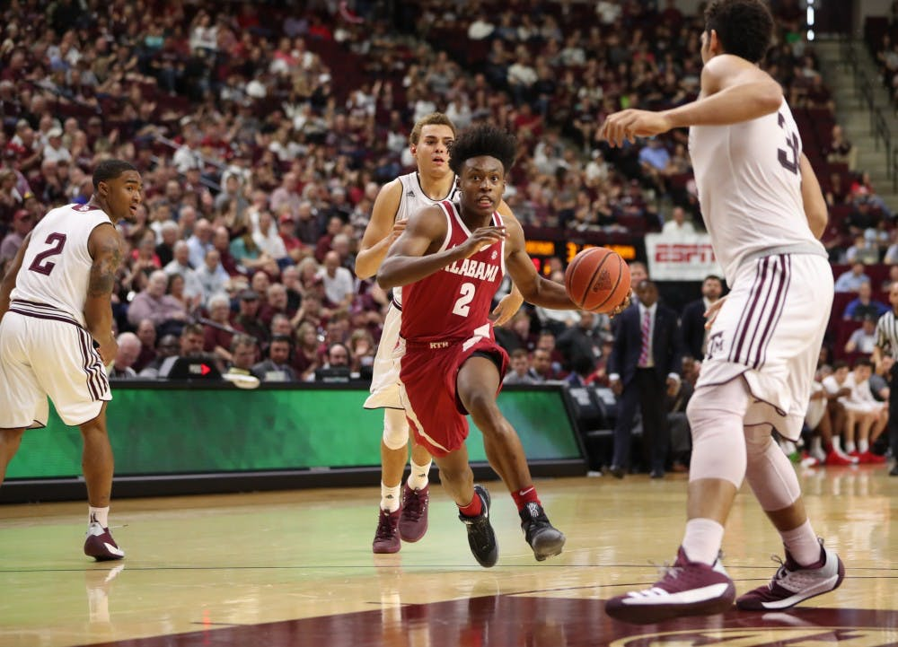 Alabama basketball ends regular season with five-game losing streak