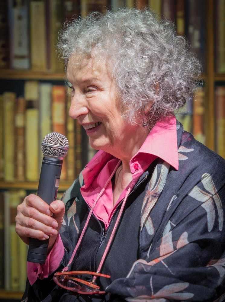 Margaret Atwood to address UA community, discuss works