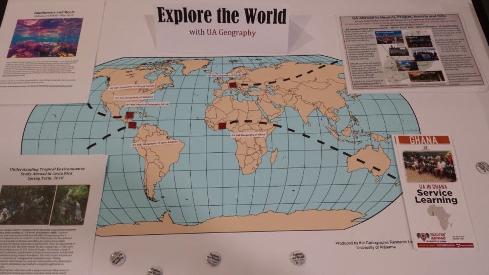 Geocaching challenge to increase geography awareness