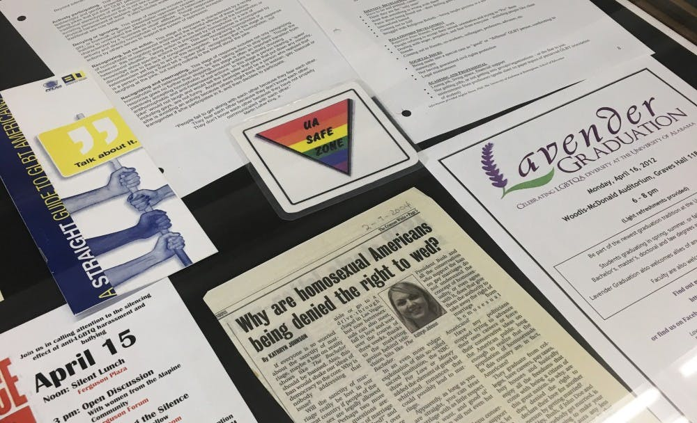 Exhibit celebrates LBGTQ   life on campus