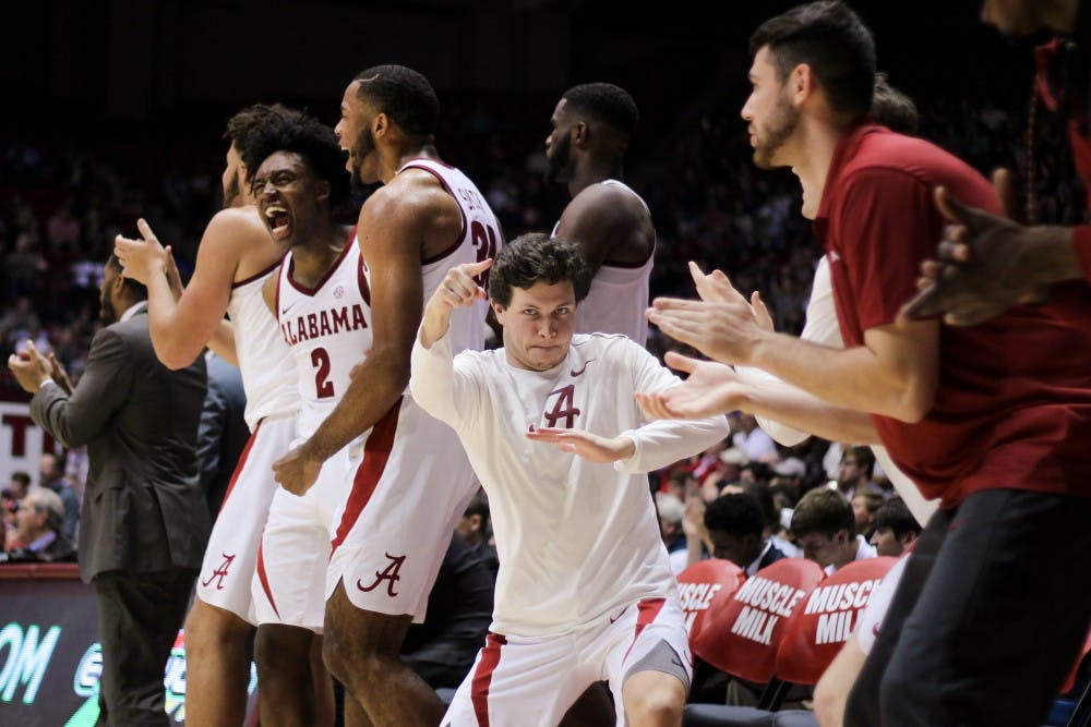 Alabama basketball ranked No. 25 in latest AP Poll