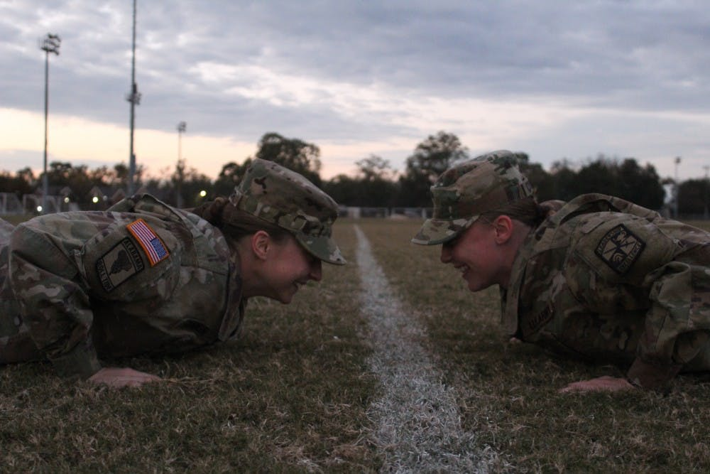 ROTC talks wins, losses, prepares for competitions