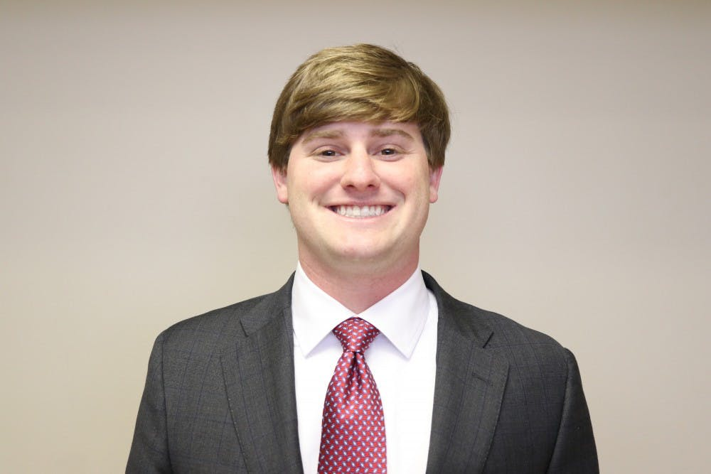SGA presidential candidate McGiffert wants to continue improving safety initiatives on campus