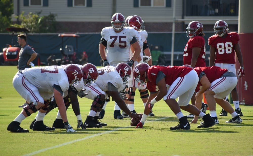 PRACTICE REPORT: Alabama finishes Tennessee preparation