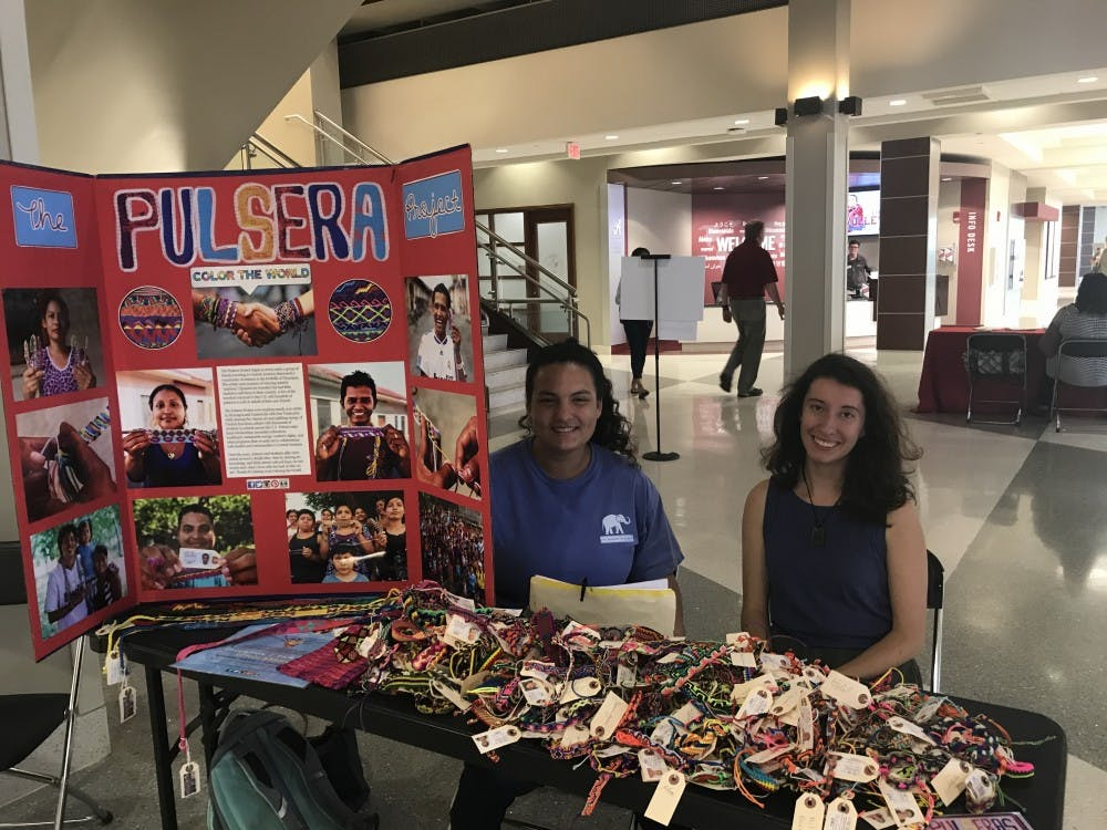 Students sell bracelets to empower Hispanic artisans