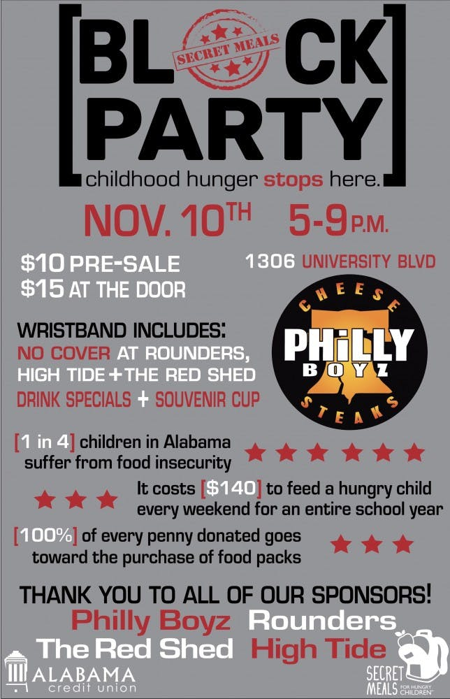 Local bar block party supports Secret Meals