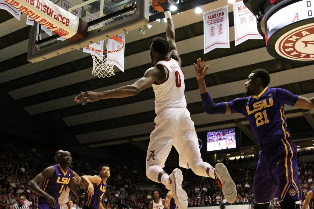 Donta Hall selected to SEC All-Defensive team