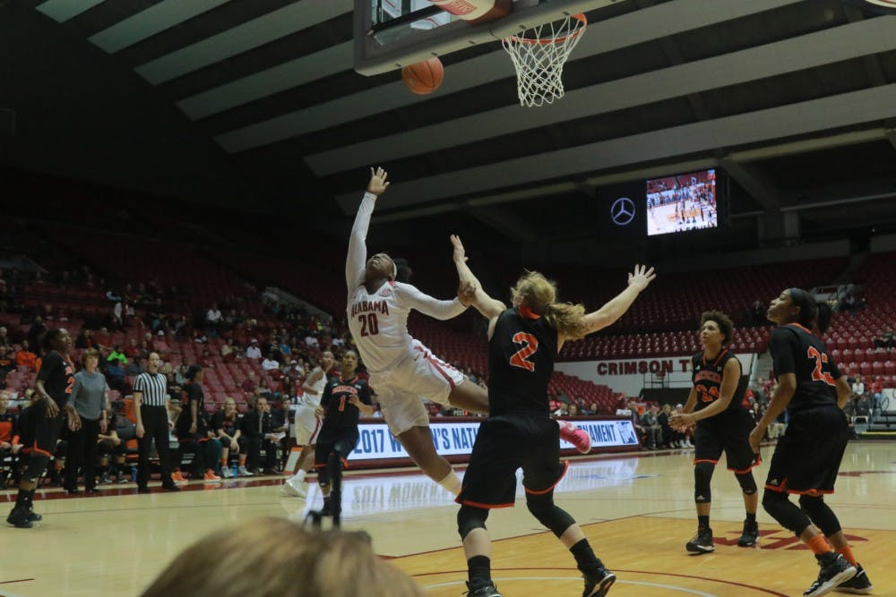 Alabama women's basketball team gears up for Utah's size, strength