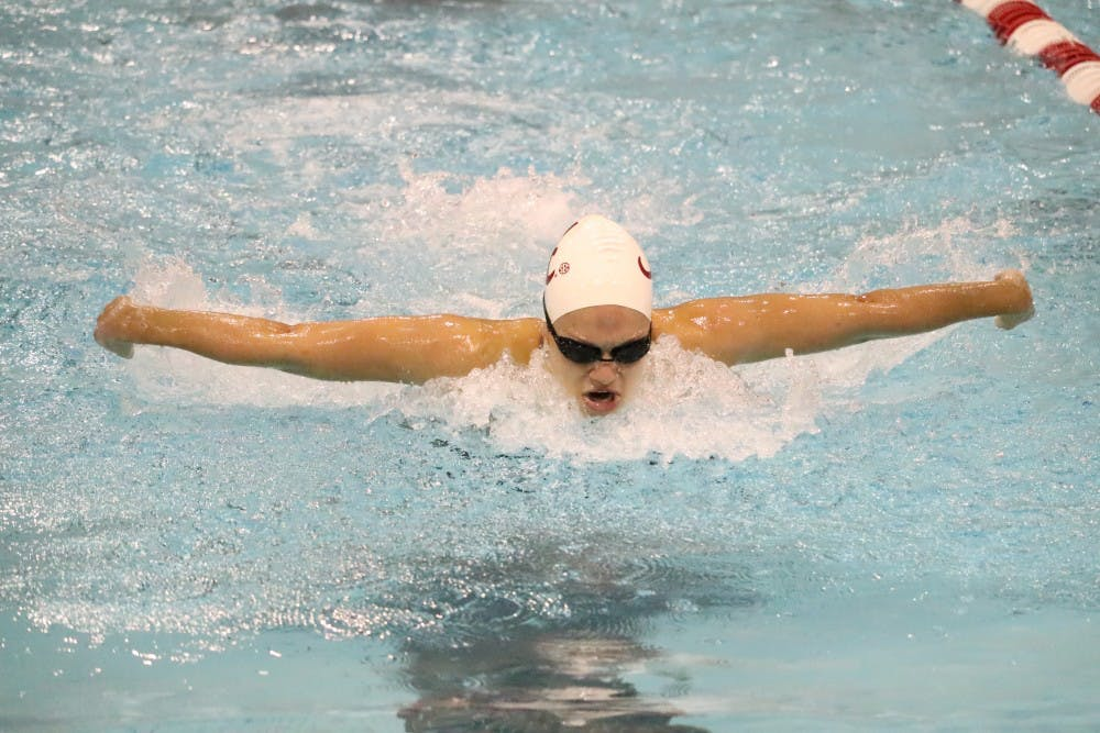 Alabama swimming and diving posts two top-three finishes on Saturday of SEC Championships