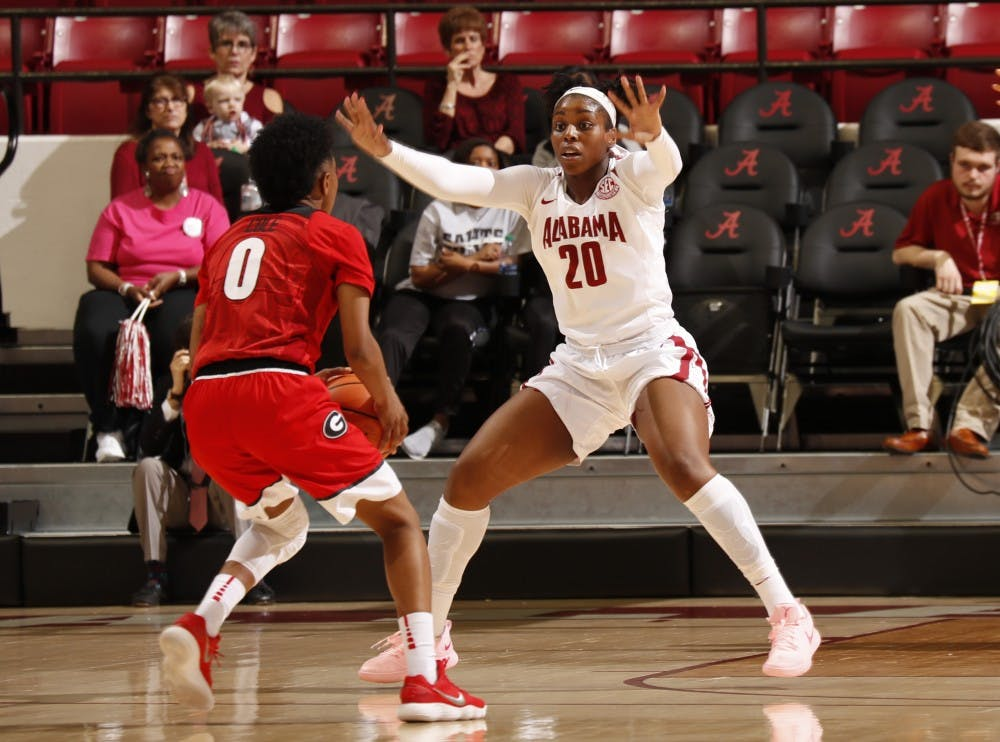 Alabama women's basketball unable to close out No. 19 Georgia