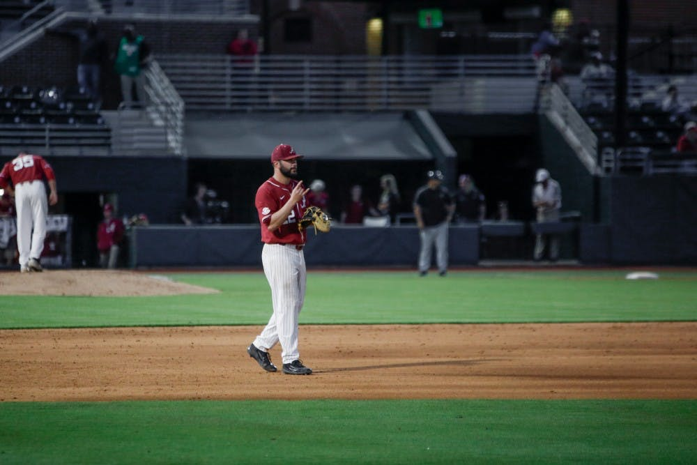 Alabama's pitching leads it past Alabama State