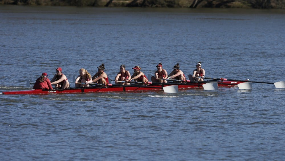 Alabama rowing continues strong start with sweep of SMU