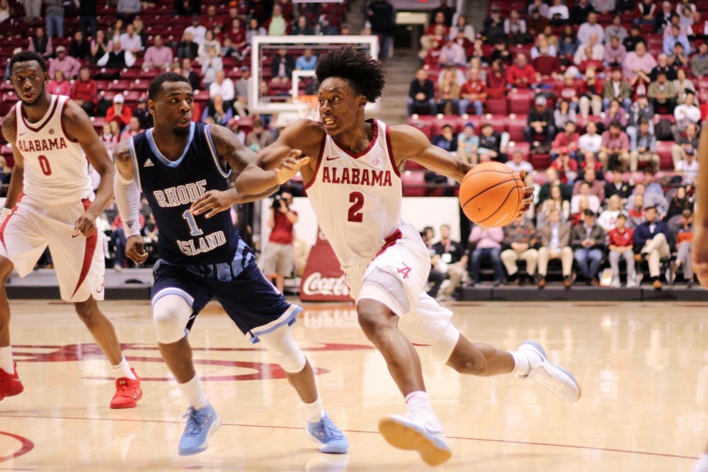 Alabama slows Trae Young, stuns No. 12 Oklahoma