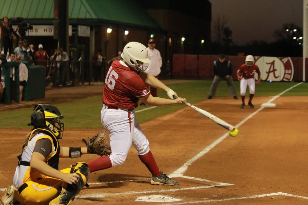 Alabama softball using disappointing end to last season as motivation