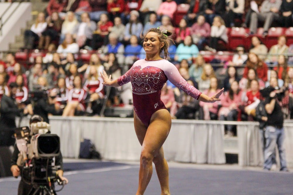 Home meet against UNC begins important month of March for Alabama gymnastics