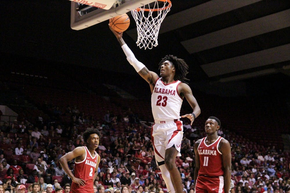 Alabama basketball prepares for first exhibition against UAH