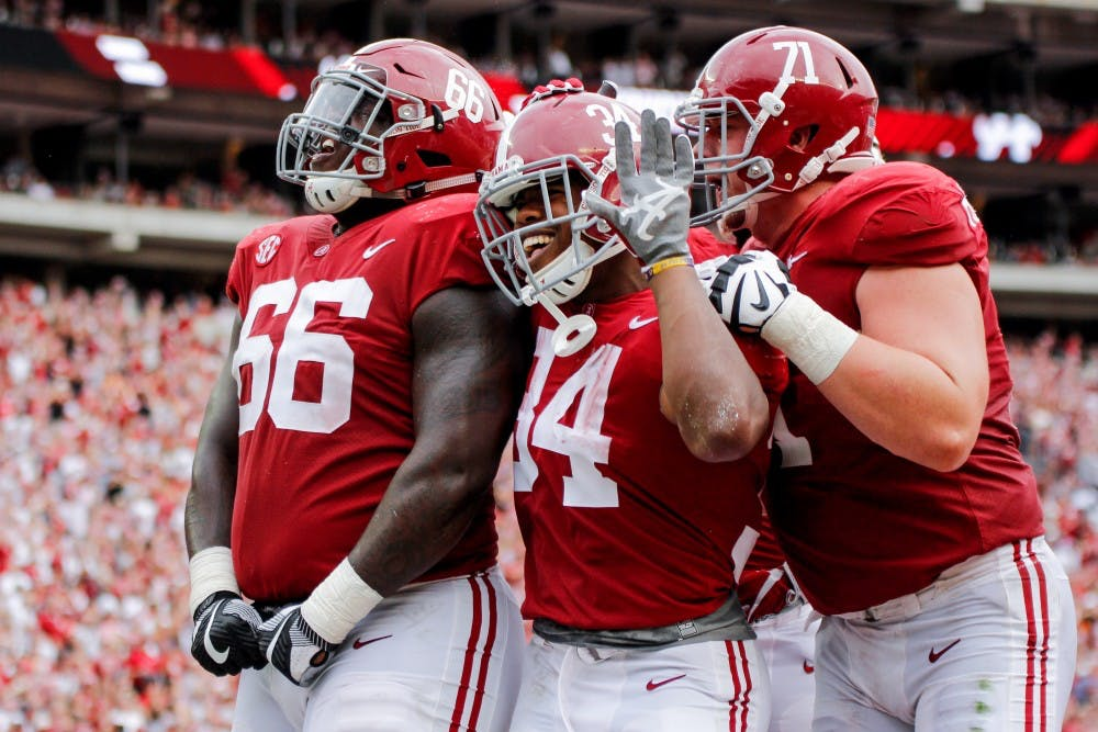 Alabama wins 11th game in a row against Tennessee