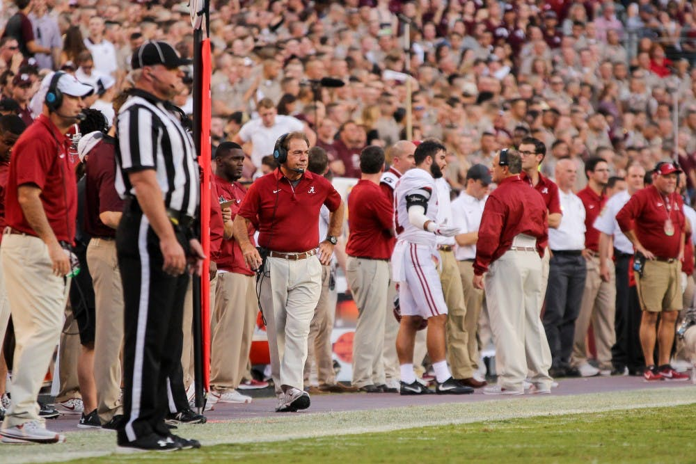 Alabama officially announces multiple coaching changes