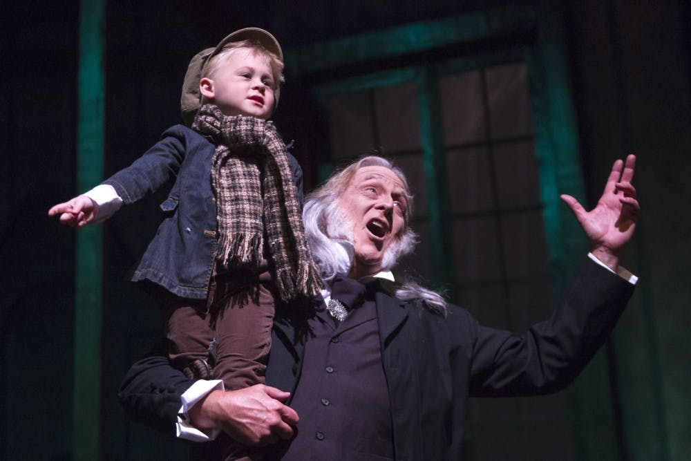 Theatre Tuscaloosa opens 'A Christmas Carol' today