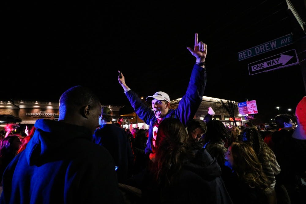 For students in Tuscaloosa, National Championship a night to remember