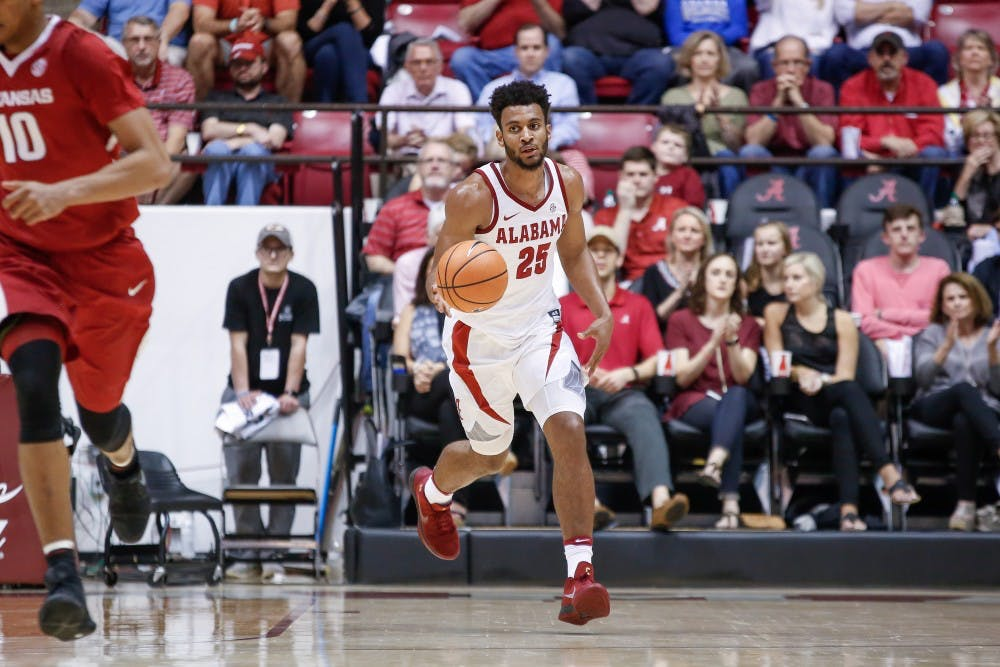 Alabama basketball unable to overcome late-game mistakes against Arkansas
