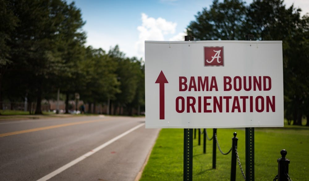 Bama Bound brings excitement to new students