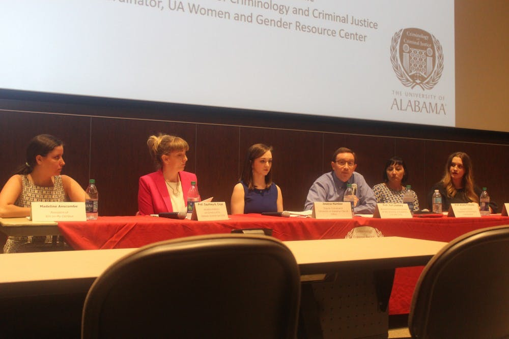 Students, faculty gather for sexual assault forum