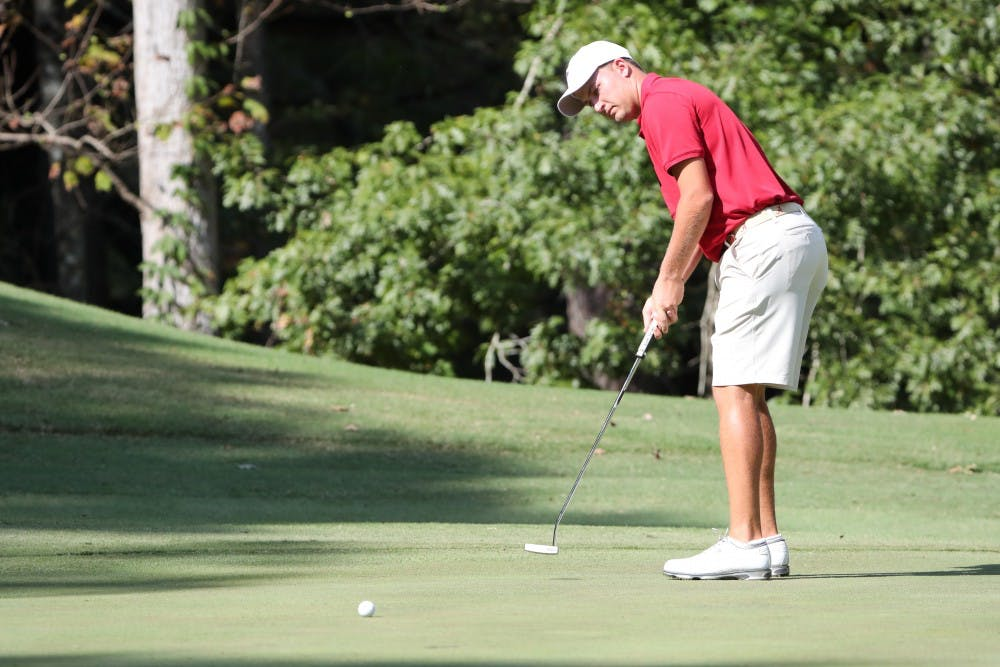 Learning from defeat: Men's golf takes the next step