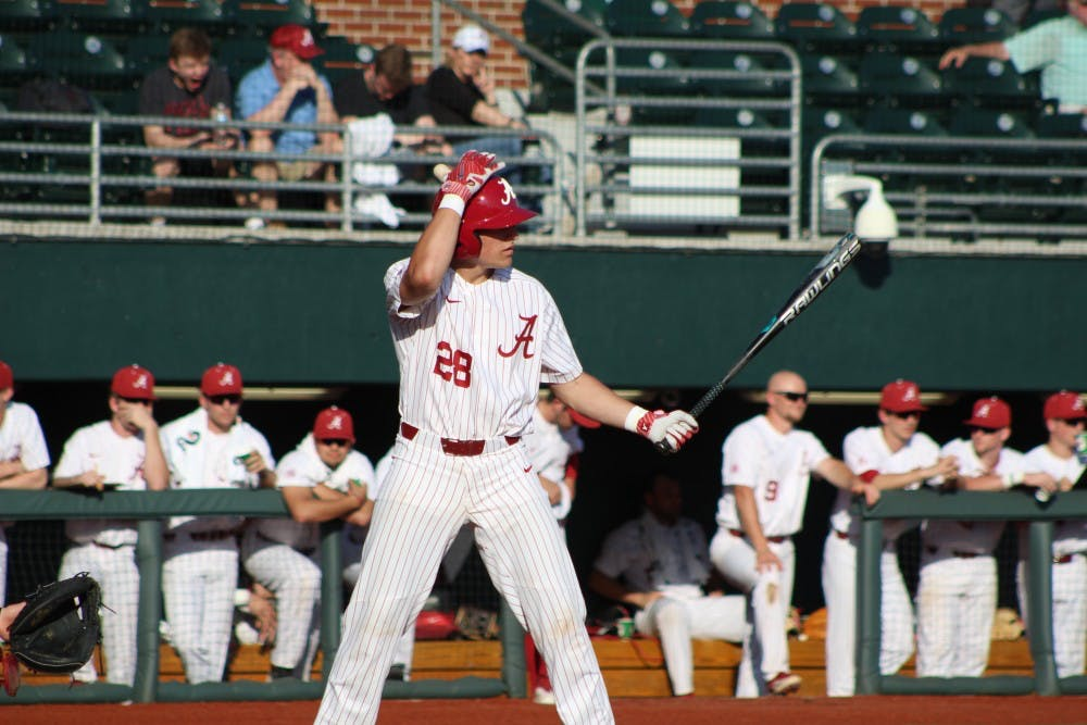High powered offenses meet in Tuscaloosa for baseball's midweek game against No. 16 Southern Miss