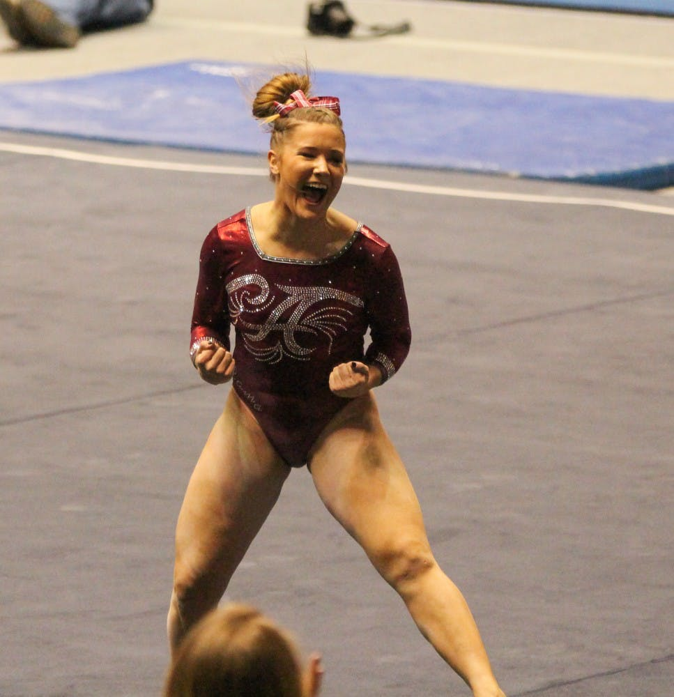 Alabama gymnastics opens up home schedule with Georgia