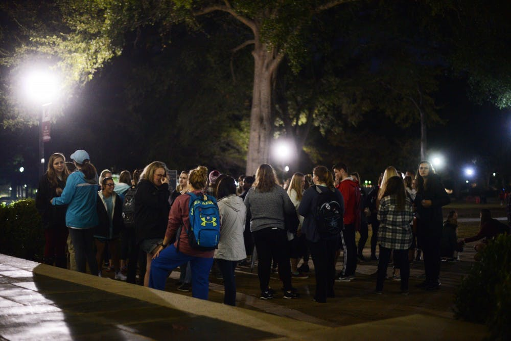 Life of University student celebrated at vigil