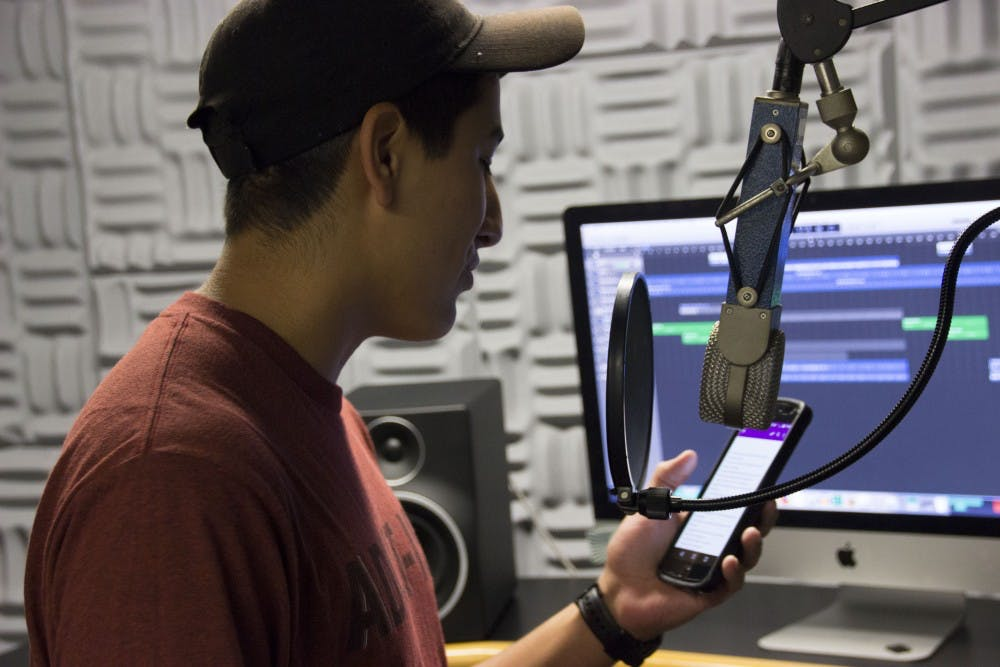 Student mixes science with songwriting