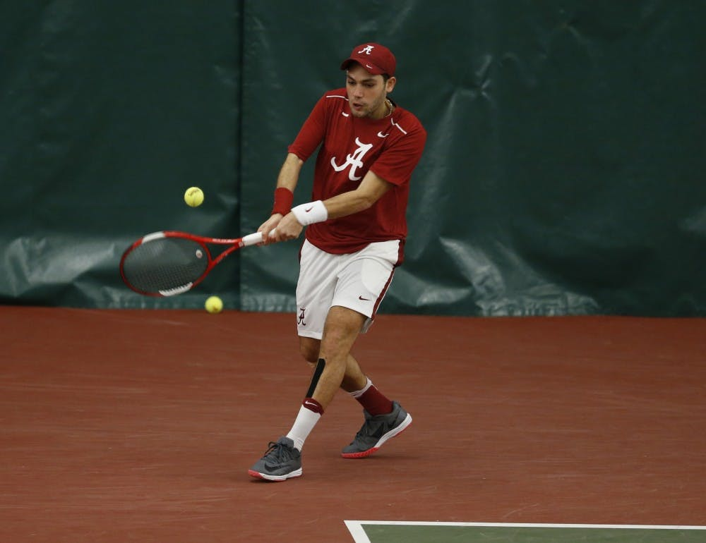 Men's tennis falls to Vanderbilt in conference opener