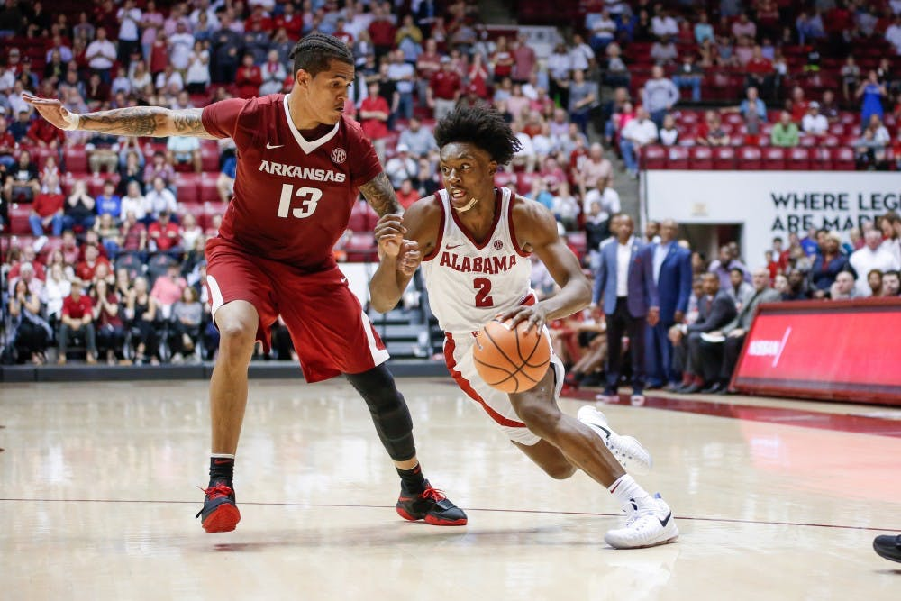 Alabama begins new season with SEC Tournament game against Texas A&M