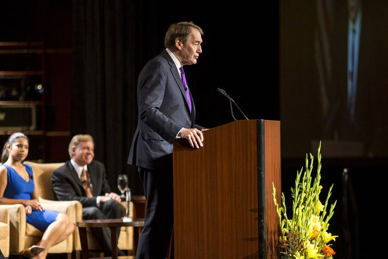 ASU evaluating Charlie Rose's reception of Cronkite award after sexual misconduct allegations