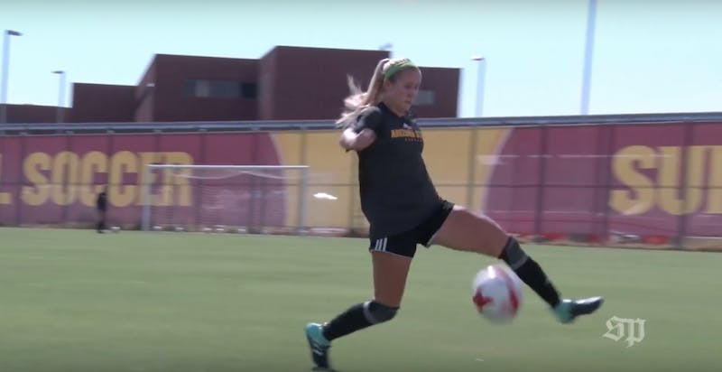 Video: ASU soccer believes using heart rate monitors improves performance