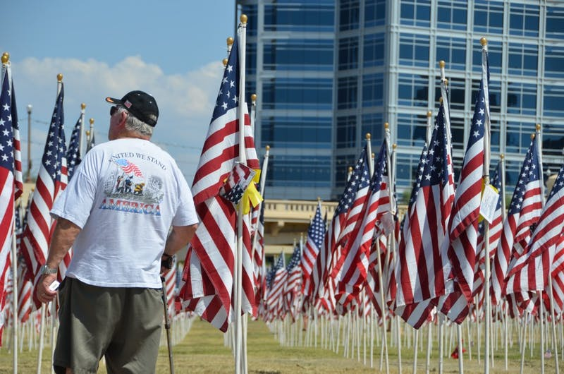9/11 Memorial at Tempe Beach Park