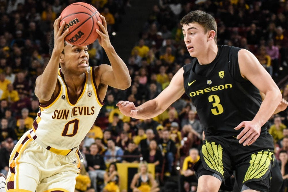 Oregon Ducks upset #11 Sun Devils in decisive fashion — ASU Men's Basketball