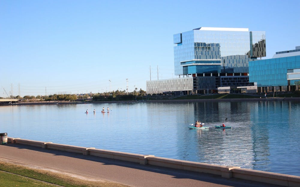 Fish in tempe town lake may be dying but the water is for Tempe town lake fishing