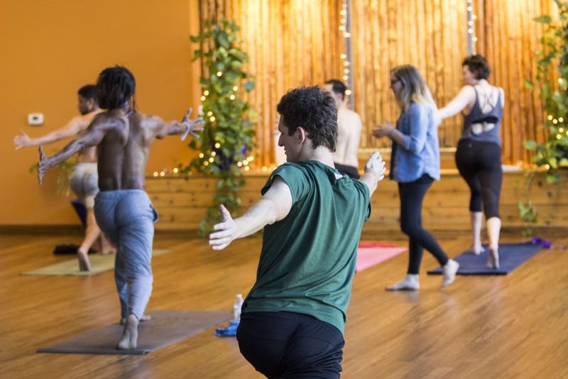 Yoga to the People provides students with affordable yoga