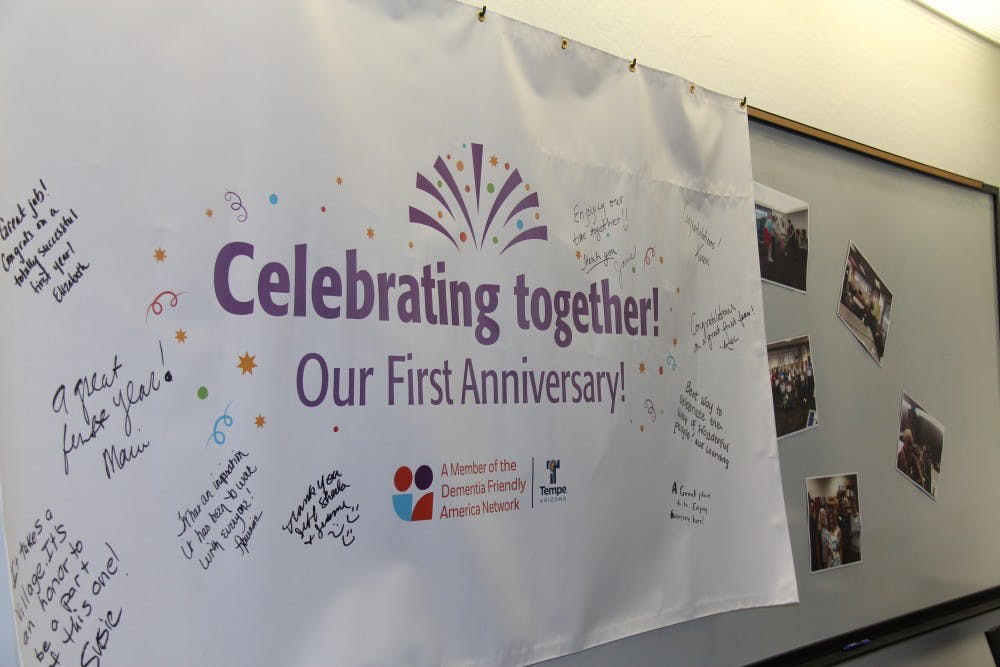 1st anniversary banner