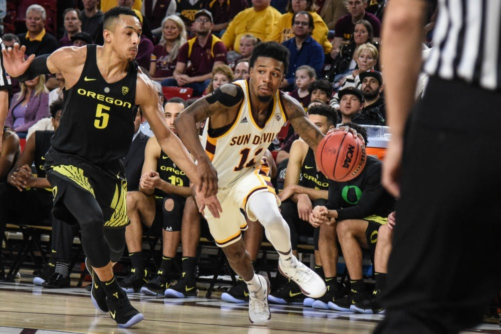 Leads Ducks to upset at Arizona State