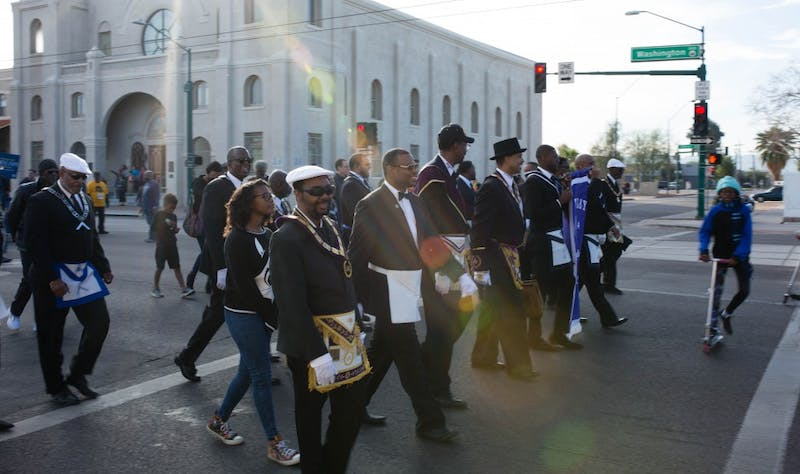 MLK Day march and festival