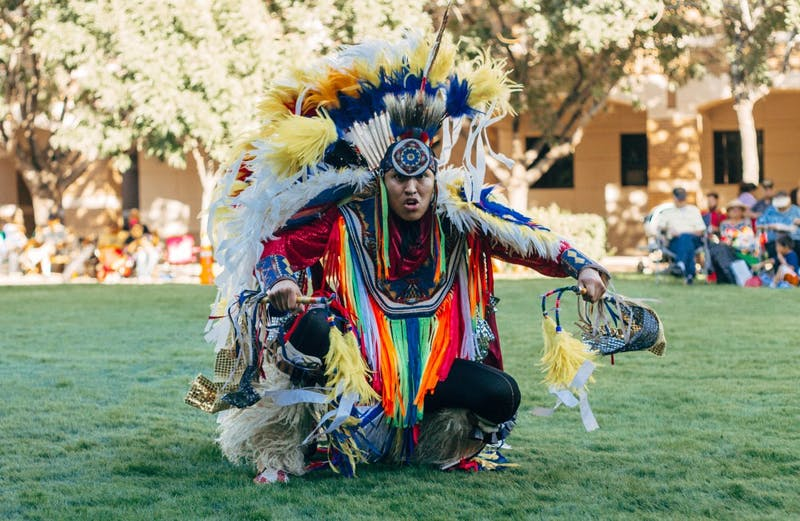 Traditional Pow Wow at ASU West